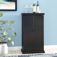 bar cabinet furniture bar wine cabinets you ll love wayfair