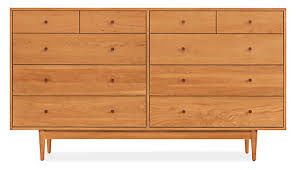 Bedroom Furniture Dresser Grove Wood Dressers Modern Dressers Modern Bedroom Furniture