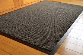 big extra large grey and black barrier mat rubber edged heavy duty