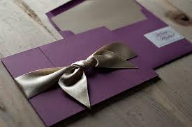 gatefold wedding invitations real wedding krista and michael fushia wedding invitations in