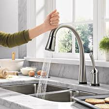 no touch kitchen faucets best 25 delta faucets ideas on faucets kitchen sink