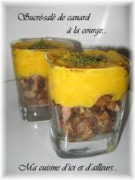 cuisine sucré salé recette de sucré salé de canard à la courge la recette facile