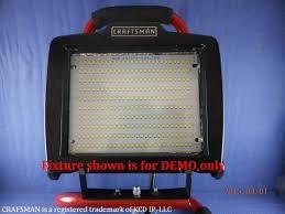 Led Light Bulbs Wattage Conversion by Converting 500 Watt Halogen Shop Light Using 2000 Lumen 9 5 Watts