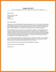 nurse cover letter new graduate nurse cover letter template