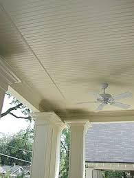vinyl porch ceiling material options ceiling materials porch