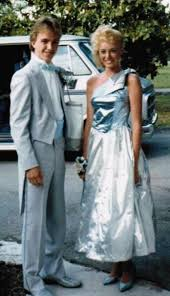 1980s prom metallic 80s prom dress with dyed shoes who else wore a