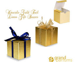 metallic gift box gold foil gift box etsy