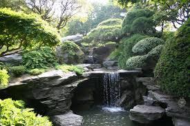 garden incredible waterfall garden pond design with artificial