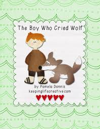 the boy who cried wolf felt story set by keeping creative