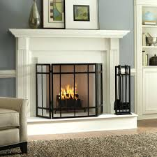 fireplace glass tile surround ideas mosaic pictures design image