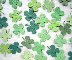 plantable paper 200 plantable four leaf clover confetti wedding favors