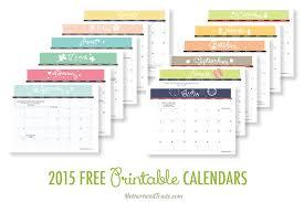 free printable monthly calendar template calendar template 2017