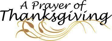 a prayer for thanksgiving god speaks i listen