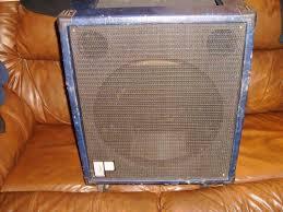 empty 15 inch speaker cabinets usa polytone taurus elite blue tolex empty 15 inch speaker cabinet