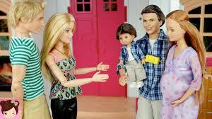 pregnant midge visits barbie ken dreamhouse stories