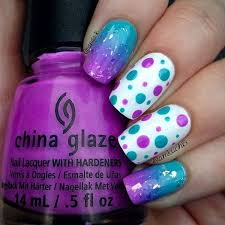 zebra and polka dots design 1000 images about confetti nail art