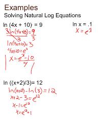 solving natural log equations jennarocca