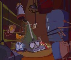 What Is Dbrm Toaster Waffles The Waffle Iron The Brave Little Toaster By Lampi01 On