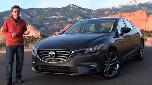 mazda 6 review the best sedan watch the 2016 mazda 6 test drive and review youtube