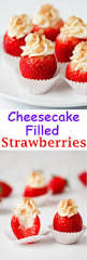 best 25 cheesecake filled strawberries ideas on pinterest