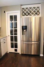 space between top of refrigerator and cabinet space between top of refrigerator and cabinet good way to utilize