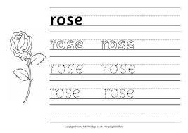 heart handwriting worksheet