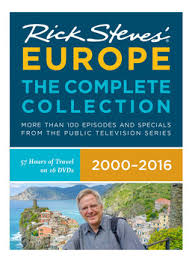 rick steves europe dvd set all episodes rick steves travel store