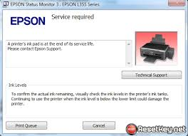 wic reset key for epson l110 resetting epson l110 printer waste ink counter wic reset key