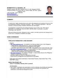free resume templates 89 extraordinary examples for jobs example