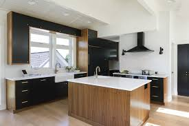 black walnut wood kitchen cabinets madrona walnut kitchen and baths modern home in seattle