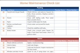 Home Maintenance Spreadsheet home maintenance schedule template basic dotxes