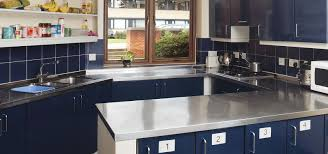 Powder Coating Kitchen Cabinets Steelplan Kitchens Providing Metal Kitchens
