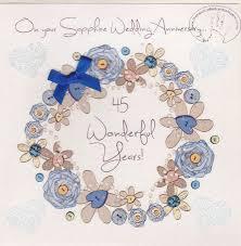 45th wedding anniversary card gift ideas bethmaru