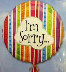 i m sorry balloons for delivery im sorry balloon four seasons floral design manchester