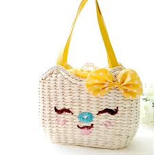 bags with bows ali straw bags with bows for fox