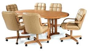 rolling dining room chairs rolling dining chairs dining room chairs with casters dining table