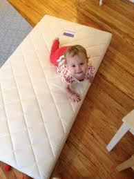 Organic Baby Crib Mattress by Upgrading To An Organic Crib Mattress Naturalmat Coco Mat Review