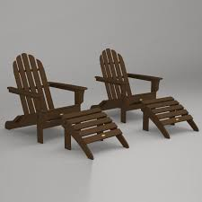 trex outdoor furniture cape cod folding adirondack chair and