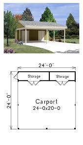 carport plans with storage 20 stylish diy carport plans that will protect your car from the