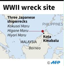 Iup Map Wwii Shipwrecks Off Malaysia Broken For Scrap Divers Todayonline