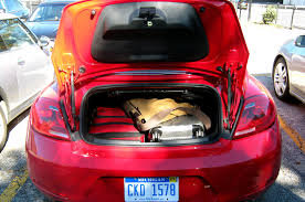 volkswagen beetle trunk in front 2013 volkswagen beetle turbo convertible four seasons update