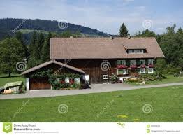 austrian wood house royalty free stock image image 33020676
