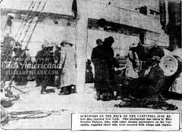 coloring pages of the titanic titanic rescue first carpathia photos 1912 click americana