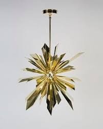 Sunburst Chandelier Giacometti Chandelier In Plaster And Metal Chandeliers And
