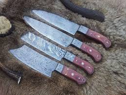 damascus hand made kitchen knives set u2022 kashmir knives store u2022 tictail