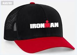 ironman personalized trucker hat black
