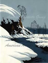 eyvind earle christmas cards vintage cards american artists