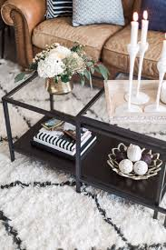 black coffee tables that give a sophisticated look to your room