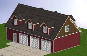 100 garage plans kits attic 4 car garage with loft space