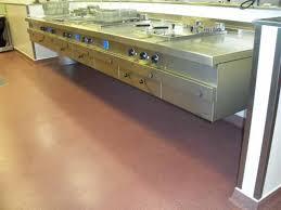 cuisine de collectivite sols coulés pour cuisines de collectivité devafloor